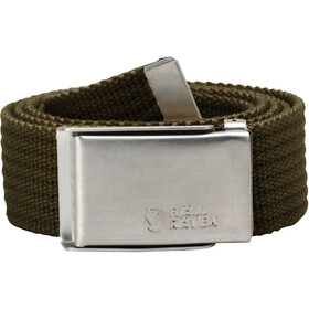 Fjällräven Merano Canvas Belt, dark olive